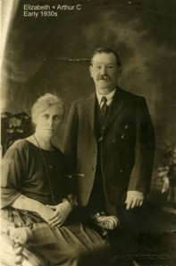 Arthur Cornelius Cole's parents, Arthur Cornelius Snr and Elizabeth